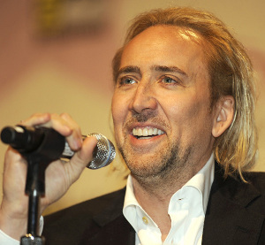 cage - blond hair